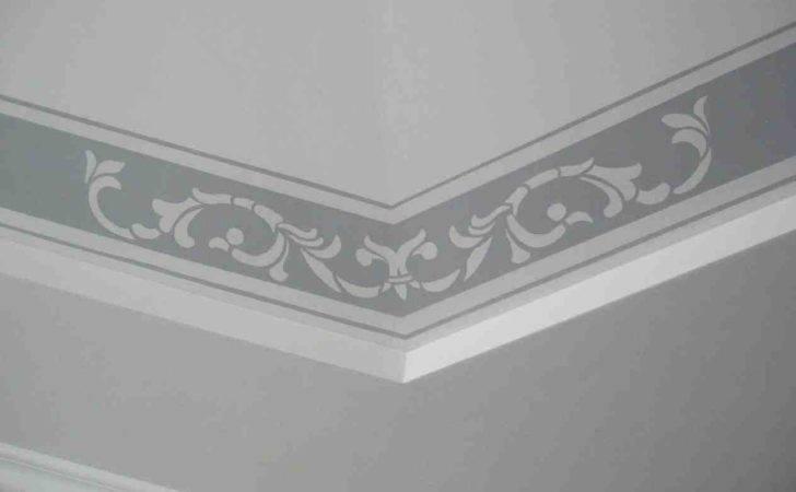 Simple Ceiling Designs Borders Ideas Pop Border