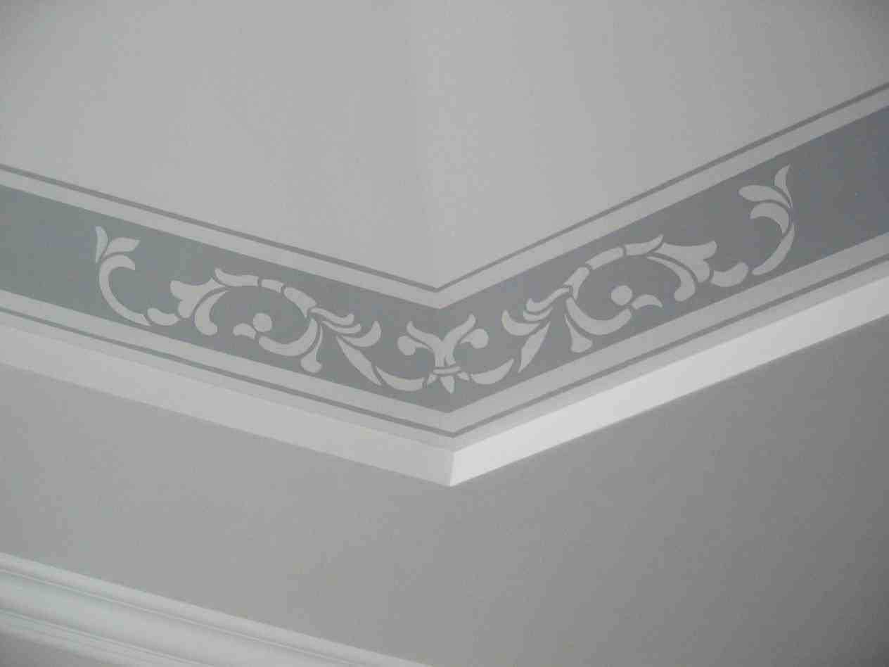 Simple Ceiling Designs Borders Ideas Pop Border