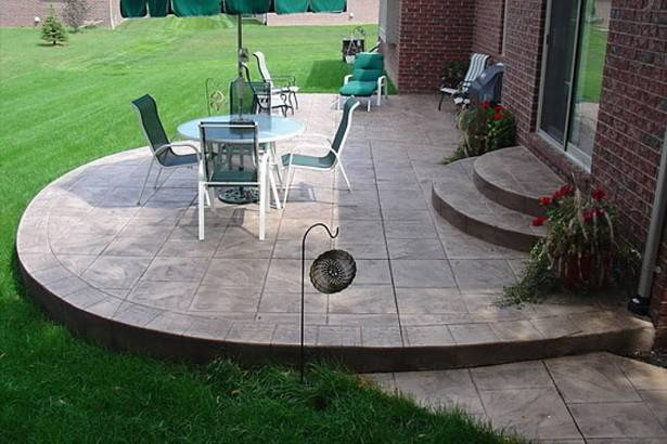 Simple Concrete Patio Designs