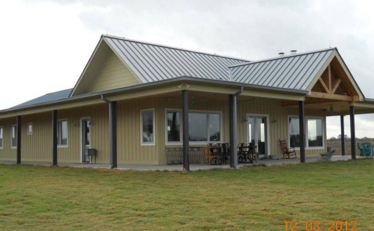 Simple Design Metal Building Home Homes