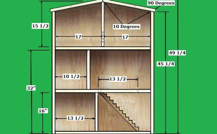 Simple Doll House Plans Home Plan Collections