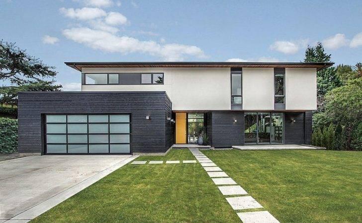 Simple Geometry Shines Modern Seattle Home Freshome