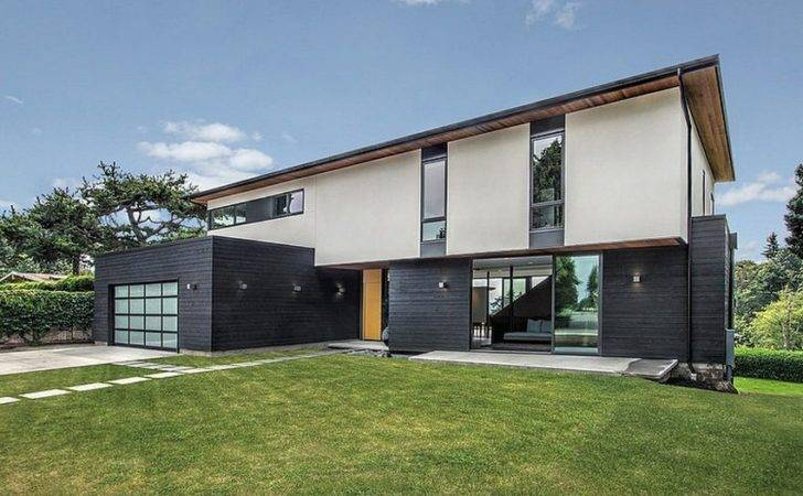 Simple Geometry Shines Modern Seattle Home Internets Best