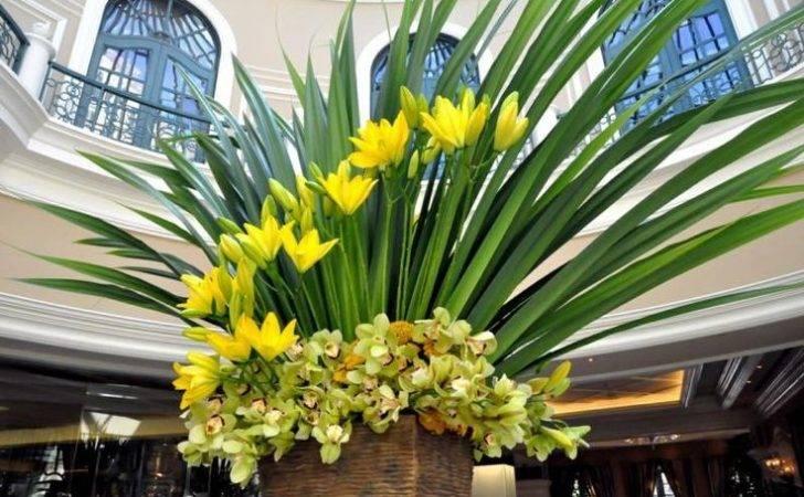 Simple Hotel Lobby Flowers Dise Florales Pinterest