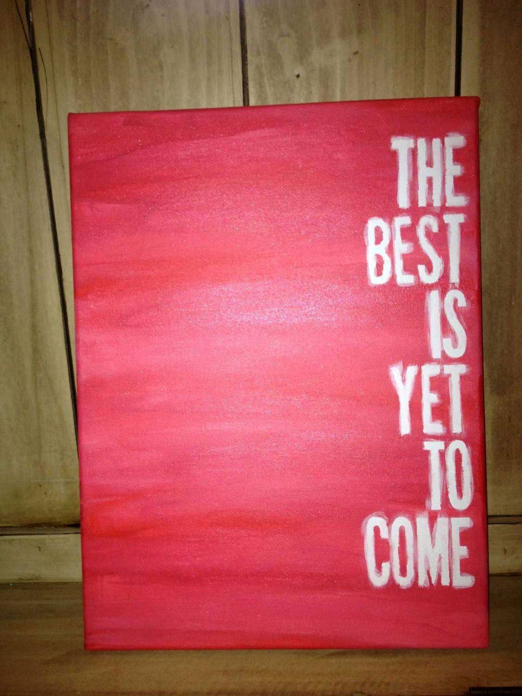 Simple Painting Ideas Canvas Quote