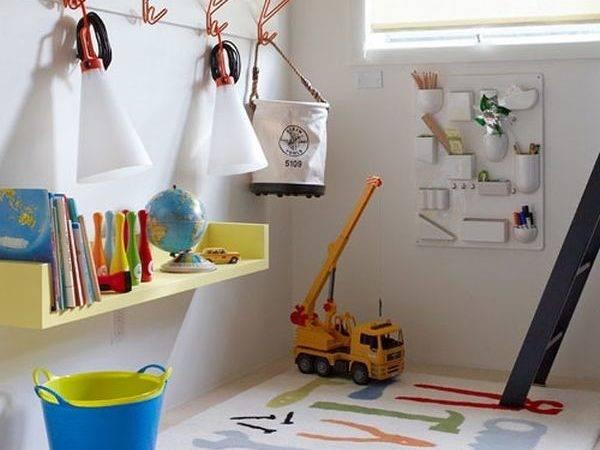 Simple Playroom Ideas Colorful Design