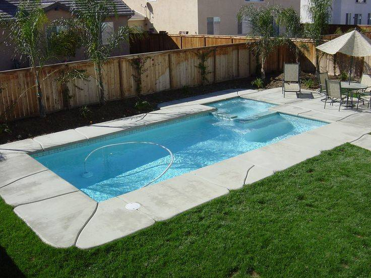 Simple Swimming Pool Design Rectangular Shape