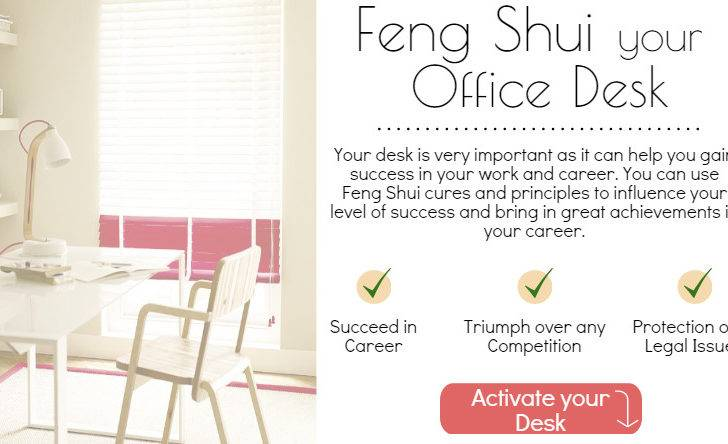 Simple Tips Cures Feng Shui Your Office Desk