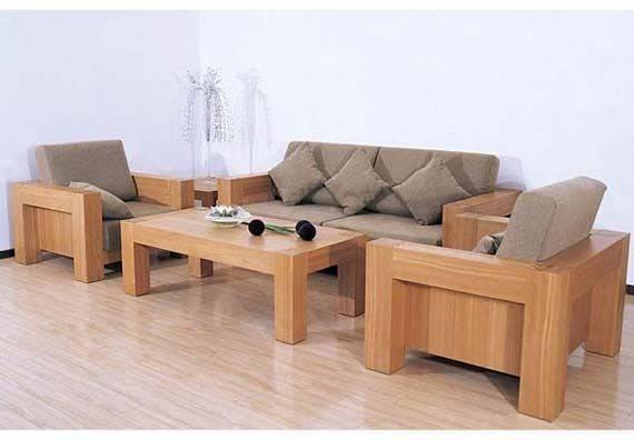 Simple Wooden Sofa Set Design Minimalist Living Room Search