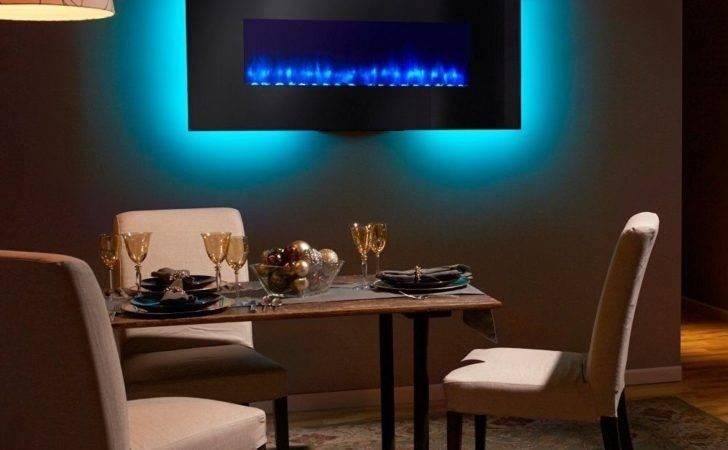 Simplifire Modern Linear Wall Mount Electric Fireplace Ebay