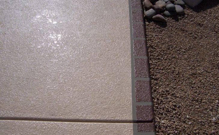 Simulated Kool Deck Desert Rose Concrete Coating