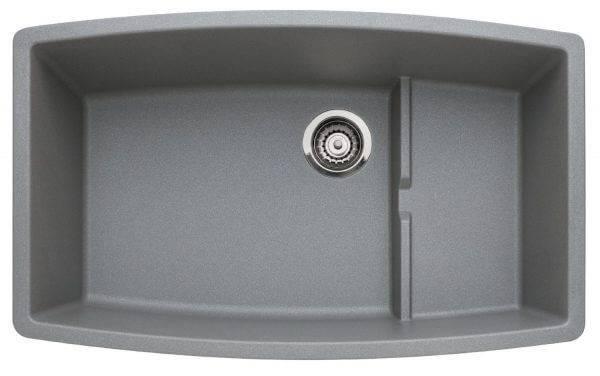 Single Basin Undermount Granite Kitchen Sink Via Amazon