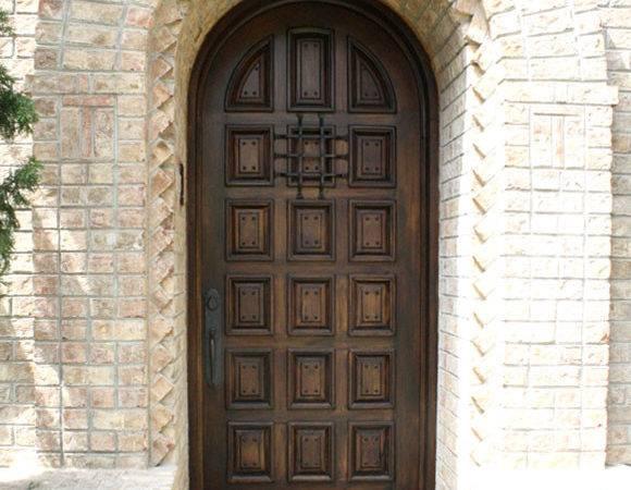 Single Exterior Doors Mediterranean
