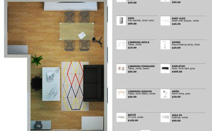 Single Person Office Layout Render Freelancer