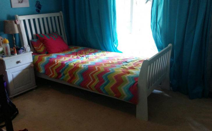 Single Sleigh Bed Mattress Plus Side Table Fairland Olx