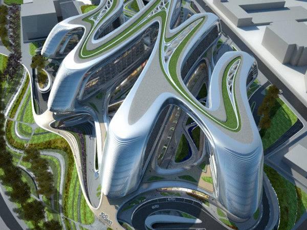 Sky Soho Shanghai Zaha Hadid Modern Desert Homes