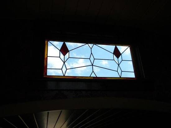 Skylight Stained Glass Big Sky Chico Hot Springs
