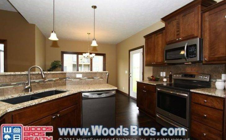 Slate Appliances Wood Cabinets Kitchen Wishes Pinterest Home