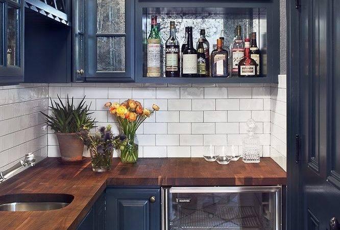 Slate Blue Cabinets Love Kitchens Interior