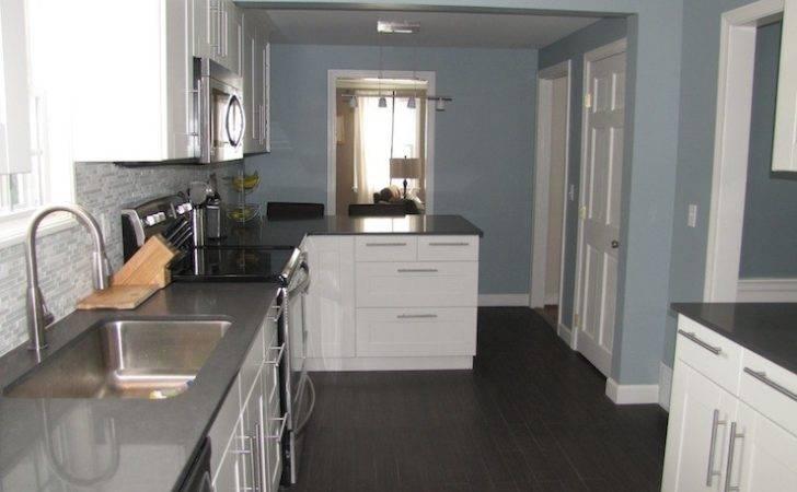 Slate Blue Kitchen Cabinets Arrow Keys More Kitchens
