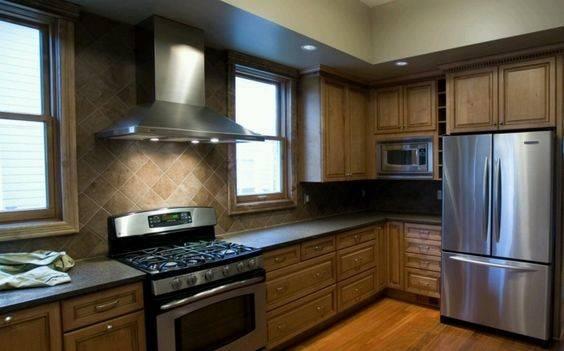 Slate Blue Kitchen Cabinets Design Accents