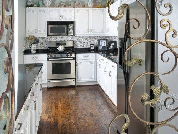 Slate Blue Kitchen Cabinets Glam Ceiling Home