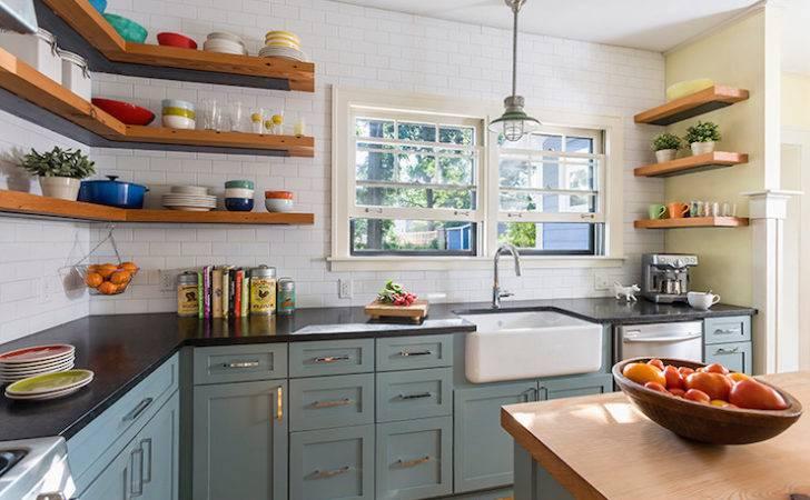 Slate Blue Kitchen Cabinets Vintage Sicora Design