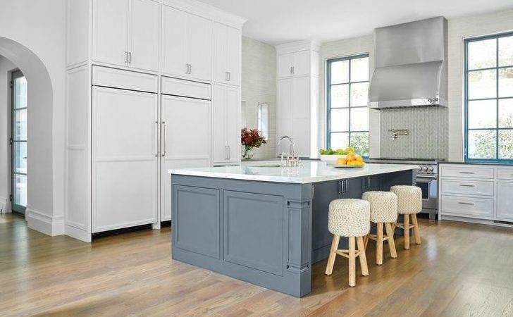 Slate Blue Kitchen Cabinets Vintage
