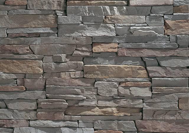 Slate Grey Stacked Stone San Diego Eldorado