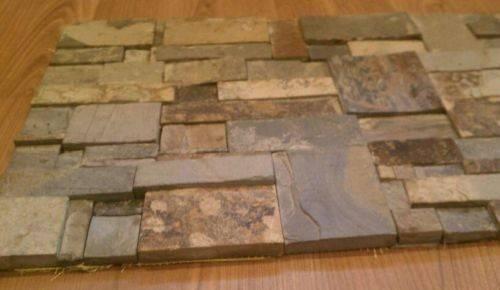 Slate Mosaic Tiles Grout Joints Wall Backsplash Ebay