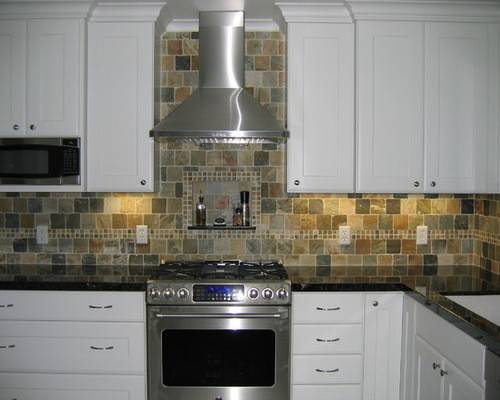 Slate Tile Backsplash Ideas Remodel Decor