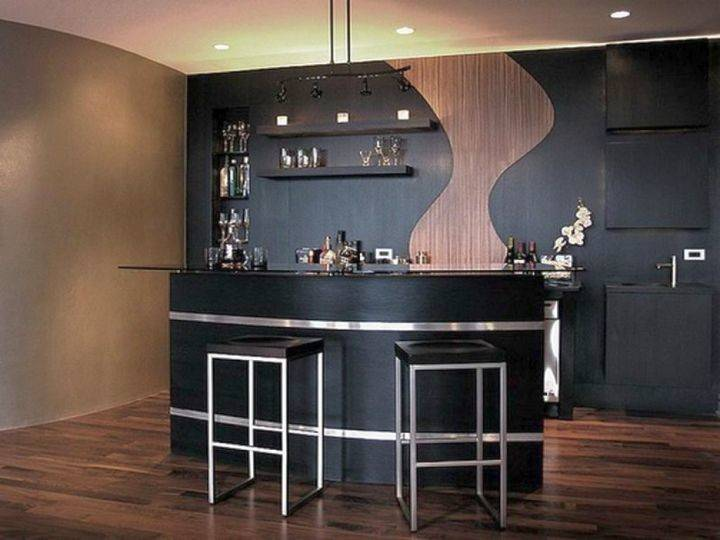 Sleek Modern Home Bar Counter Designs