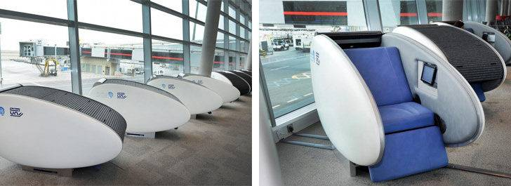 Sleeping Pods Airport