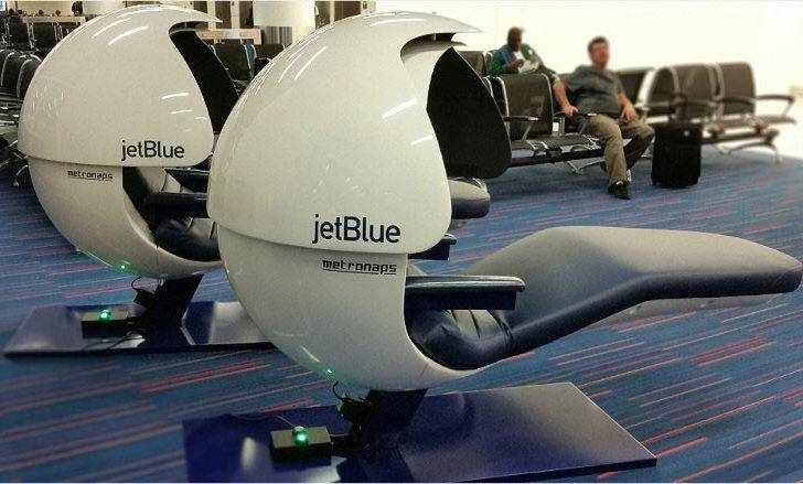 Sleeping Pods Jetblue Installs Nap Jfk Airport