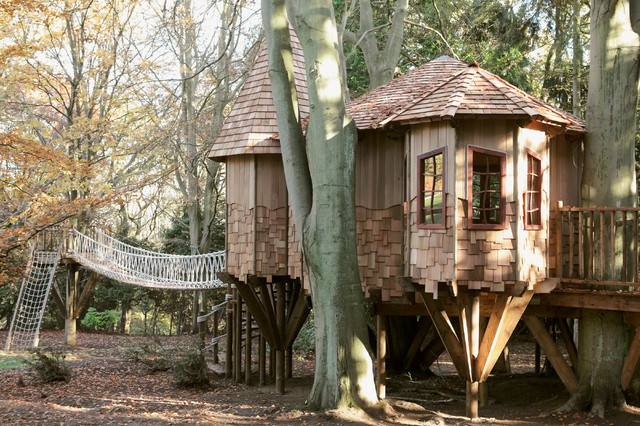 Sleepy Hollow Treehouse Rustic Shed South East Blue Forest