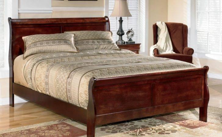 Sleigh Bed Home Design