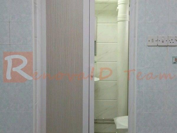 Slide Swing Toilet Door Promotion Hdb Bto Flat