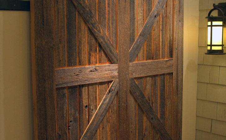 Sliding Barn Doors Don Have Rustic Sun Mountain Door