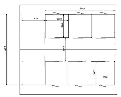 Sliding Door Doors Plan