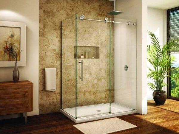 Sliding Door Shower Enclosures Modern Bathroom Decoration