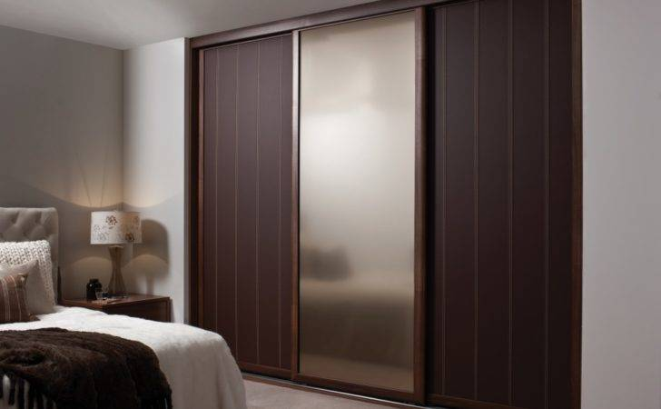 Sliding Door Wardrobe Designs Bedroom Fancy Wooden