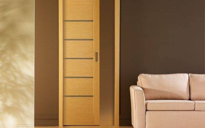 Sliding Doors Hidden Wall Pocket