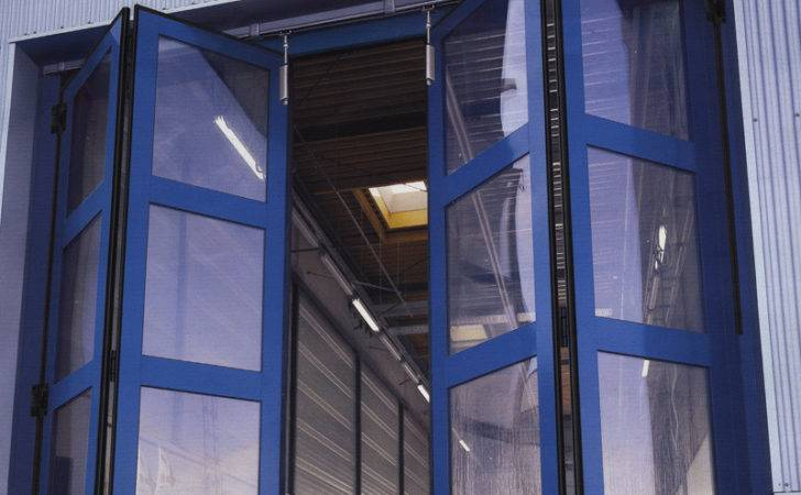 Sliding Doors Industrial Folding Automatic