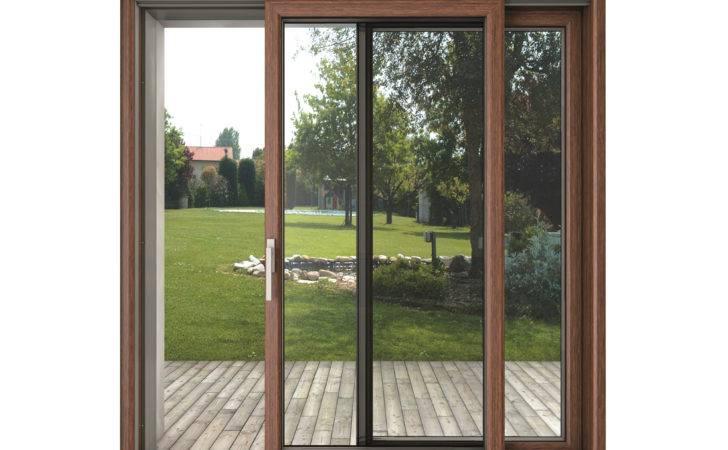 Sliding Window Blindoklima Wood Sabatino