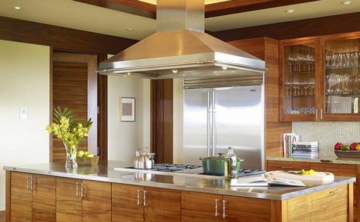 Slifer Design Contemporary Kitchen Island Rend