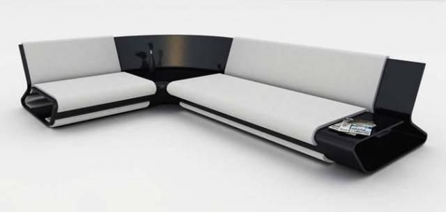 Slim Sofa Design Stephane Perruchon Best Furniture
