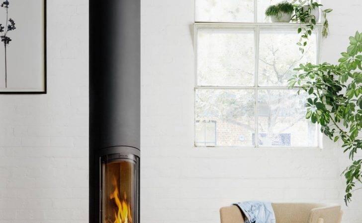 Slimfocus Suspended Fireplace Focus Oblica Designer Fireplaces