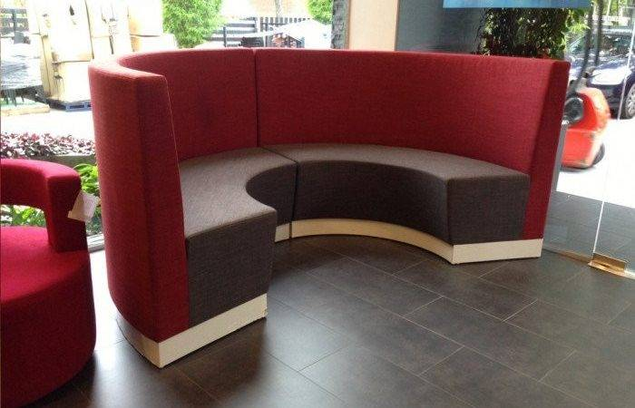 Slope Booth Semi Circle Orientation Comfort Design Chair