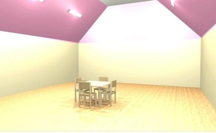 Sloped Ceiling Lighting Solutions Medium Living