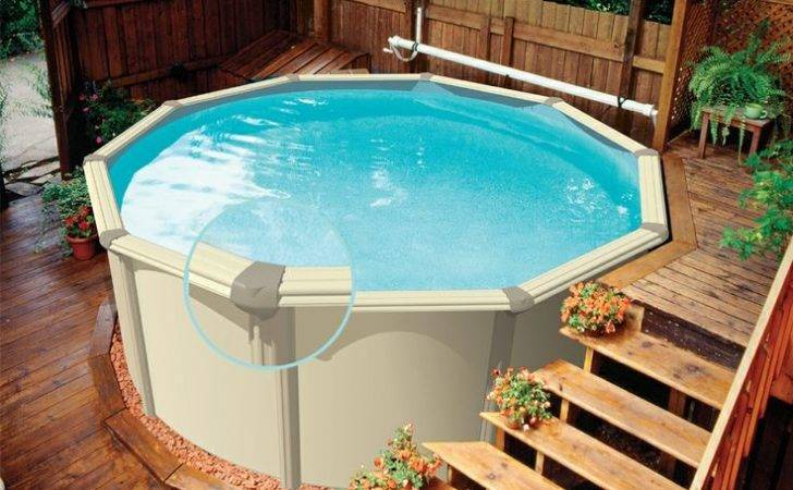 Small Above Ground Pools Yards Home Design